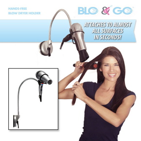 Blo and Glo by Laurie Coleman Portable Dryer Holder