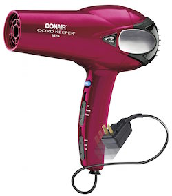 Conair 1875-Watt Cord Keeper 2-in-1 Styler