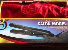 Gurin Professional Salon Model Ceramic Hair Flat Iron