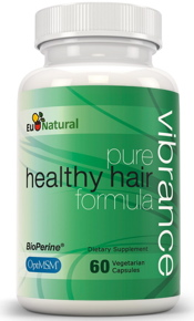 Eu Natural Vibrance pure healthy hair formula