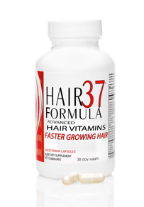 Hair37 Formula Advanced Hair Vitamins for Faster growing hair