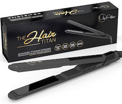 The Hair Titan Titanium Hair Straightener by Mia Adora