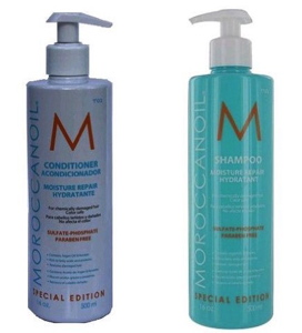 Moroccan Oil Moisture Repair Shampoo and Conditioner Combo Set