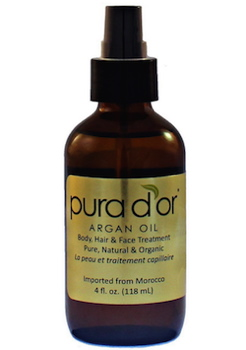 Pura d'or 100 Pure USDA Organic Argan Oil