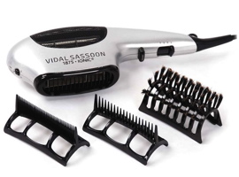 Helen of Troy VIDAL SASSON VS783 1875 watt ionic dryer with comb