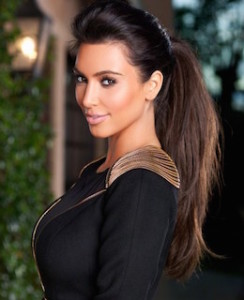 Kim-Kardashian-High-Ponytail