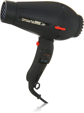 Pibbs Twin Turbo 3800 Professional Ionic and Ceramic Hair Dryer