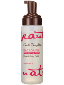 Carol's Daughter Macadamia Heat Setting Foam
