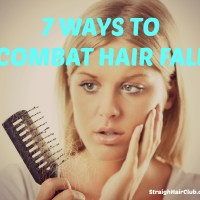ways to combat hair fall