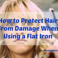 protect hair from flat iron damage