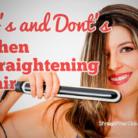 dos-and-donts-when-straightening-hair