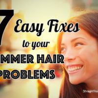 easy fixes to summer hair problems
