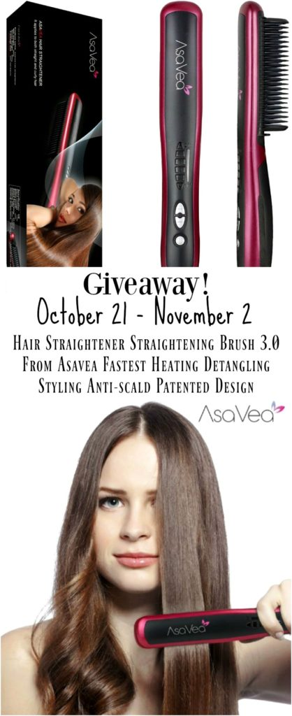 Win an AsaVea Hair Straightening Brush!
