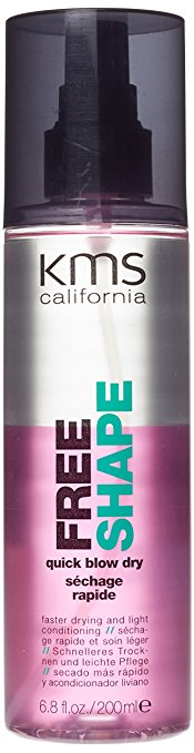 KMS california free shape quick blow dry review