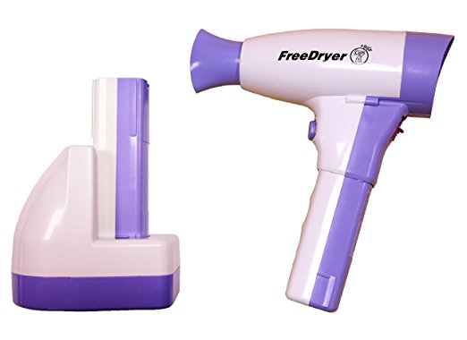freedryer cordless hair dryer review